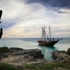 Off the coast of Aruba.