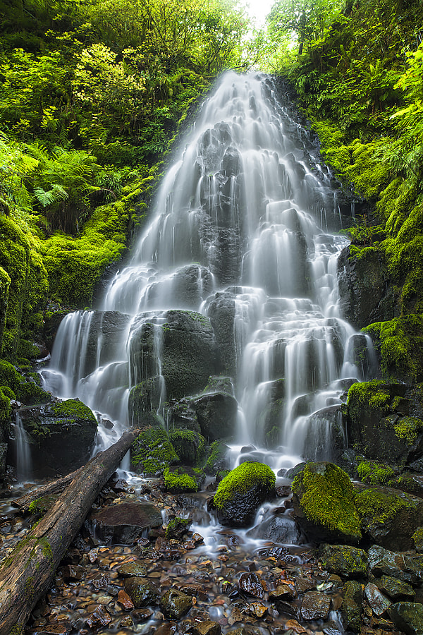 Photograph Fairy Falls by Matt Peterson on 500px