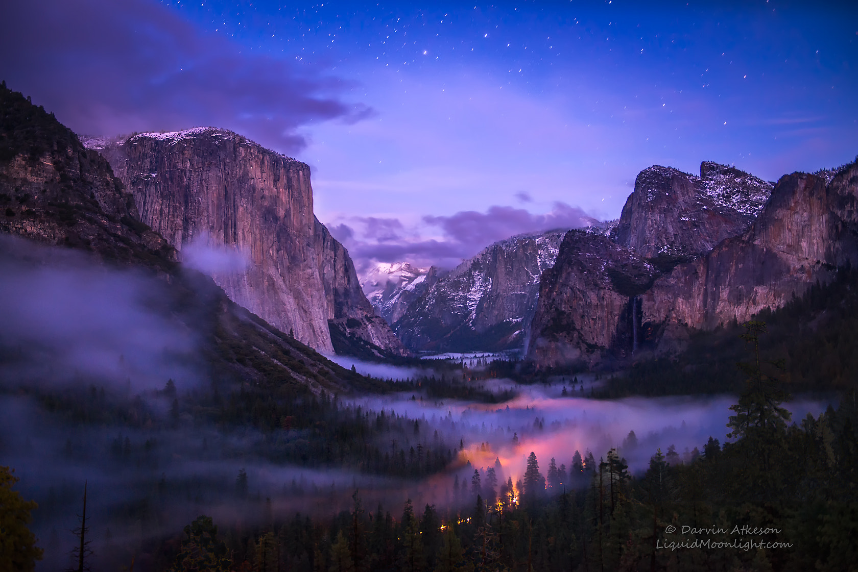 Photograph Yosemite Valley - Twilight Fog by Darvin Atkeson on 500px