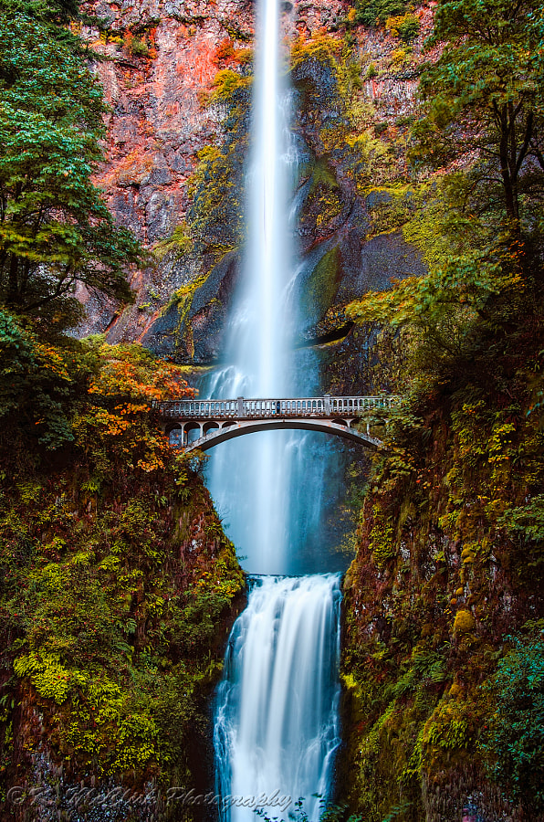 Photograph Multnomah Falls by Kevin McClish on 500px