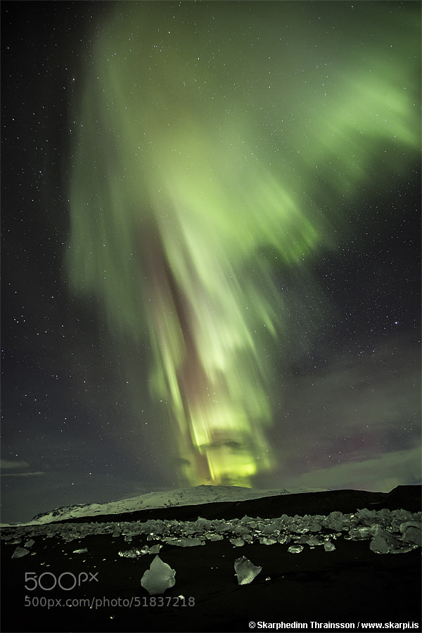 Photograph Erupting Icecap by Skarpi Thrainsson on 500px