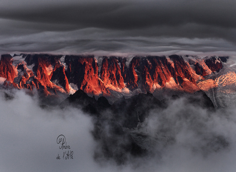 Photograph The pillars of fire by Ambre De l'AlPe on 500px