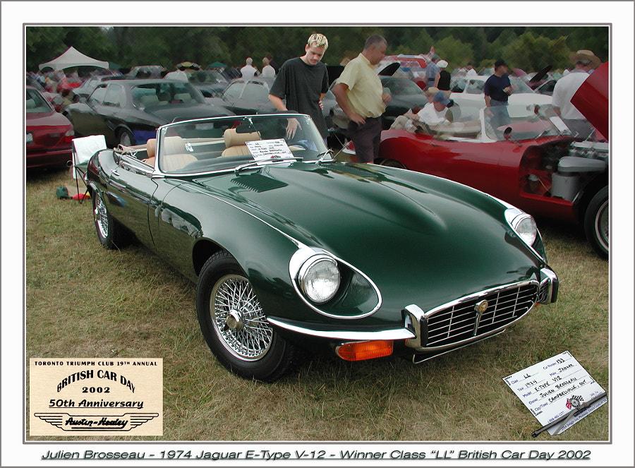 '74 Jaguar XKE BRG
