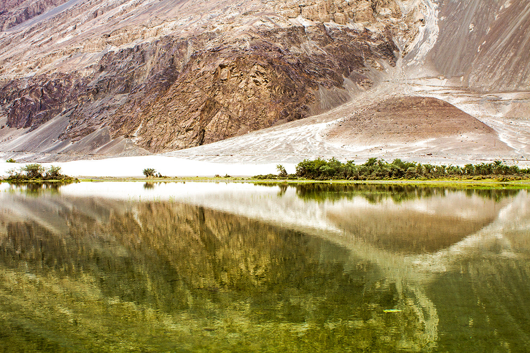 Photograph Reflections at Nubra valley... by Amod Sane on 500px