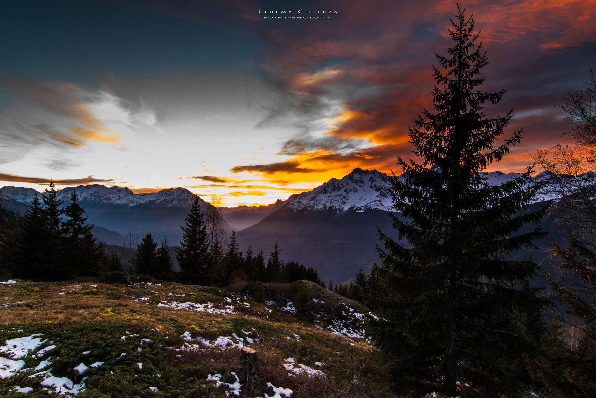 Photograph Sunset in Oisans by Jeremy Chieppa on 500px