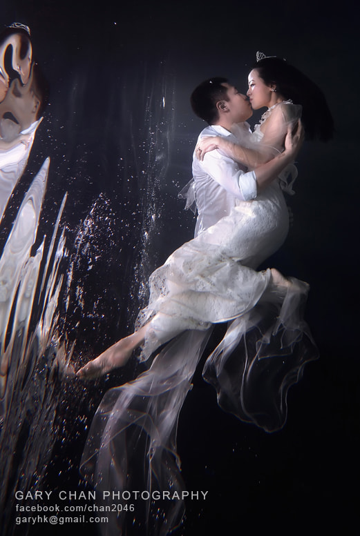Photograph Underwater Pre wedding by Gary Chan on 500px