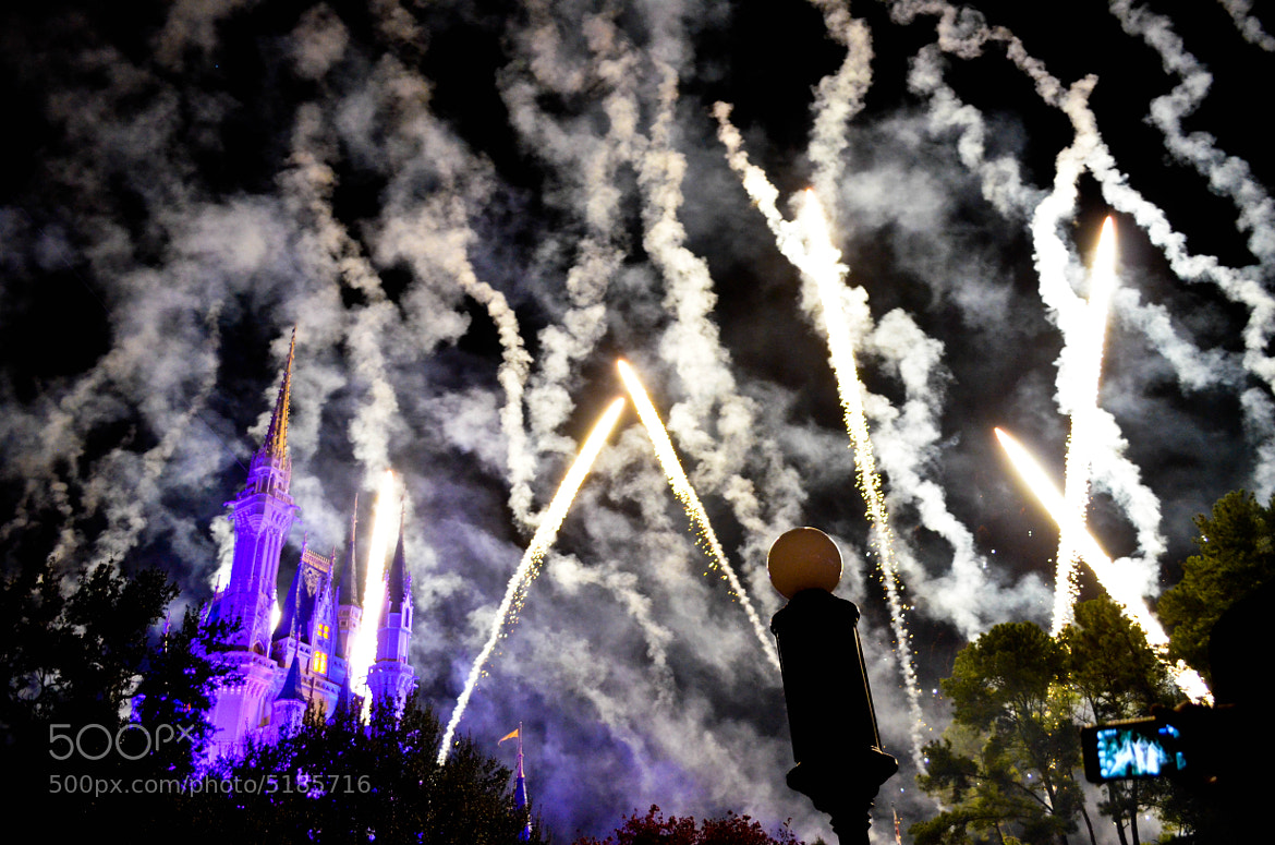 Photograph Disney's fireworks by Mat Lacasse on 500px