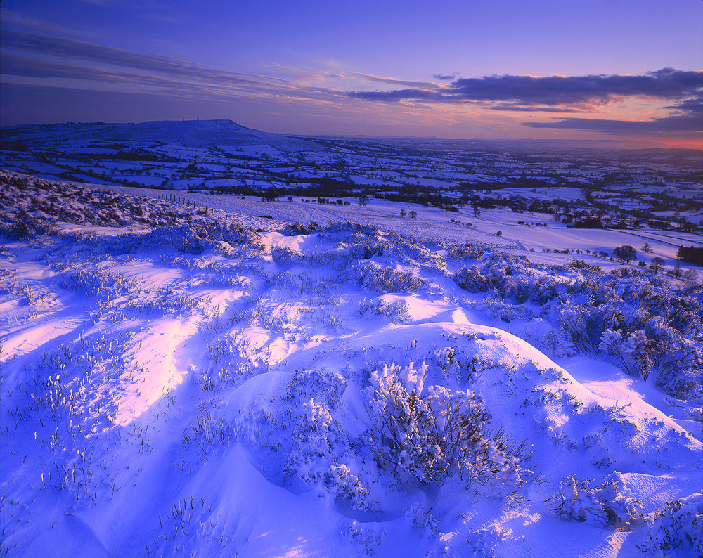 Photograph Snow, Stoke Enclosure by Edward Fury on 500px
