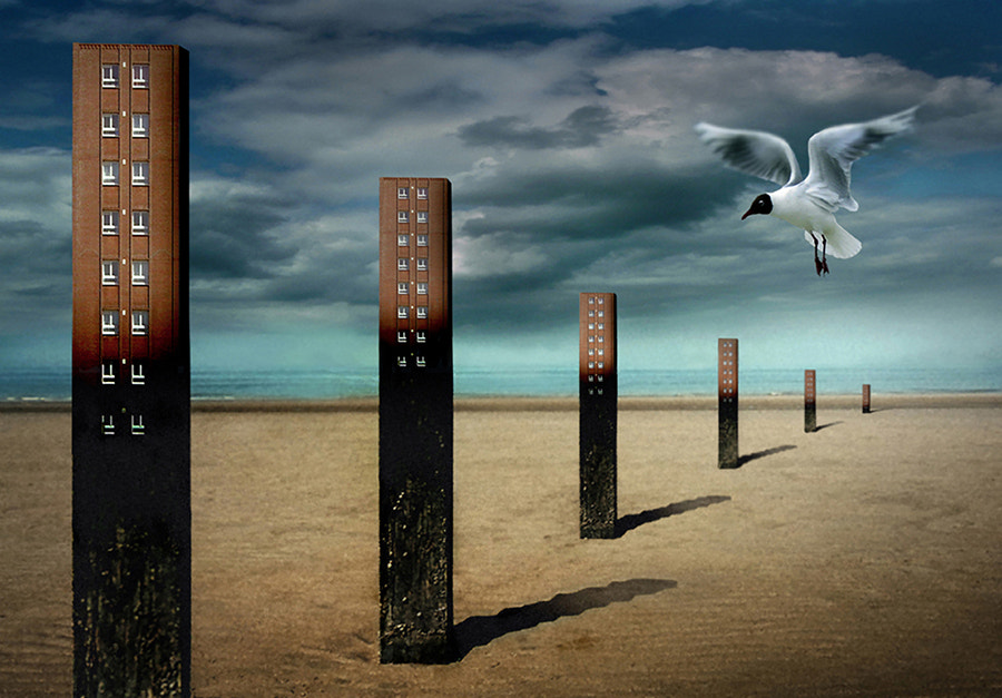 Photograph Overbuilded coast by Ben Goossens on 500px