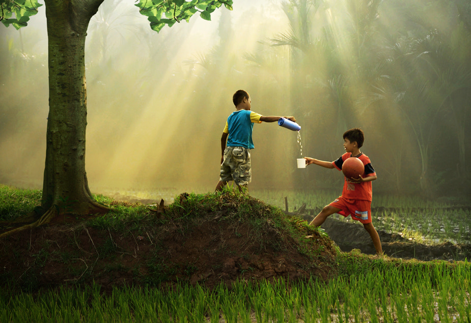 Photograph Friendship by Agah  Permadi on 500px