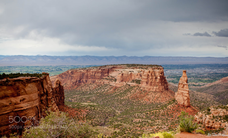 Photograph Monument Mesa under the rain by Frenchie & Pop C. on 500px