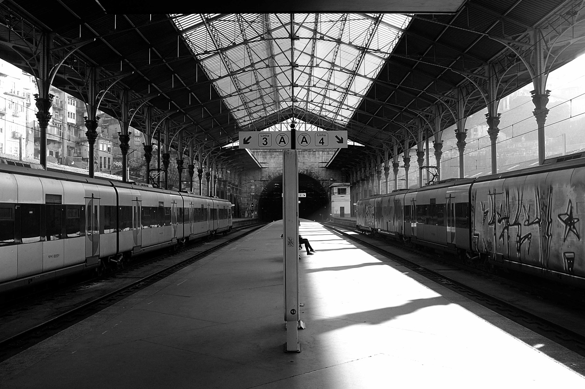 Photograph Train Station by Nick Gentile on 500px