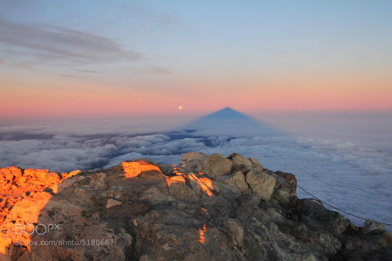 Photograph Shadow of El Teide by Tom Bonte on 500px
