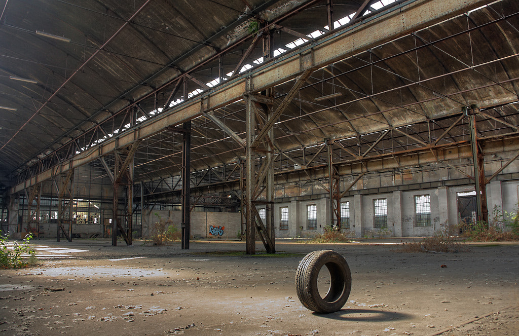 Photograph abandoned factory by Roman Jott on 500px