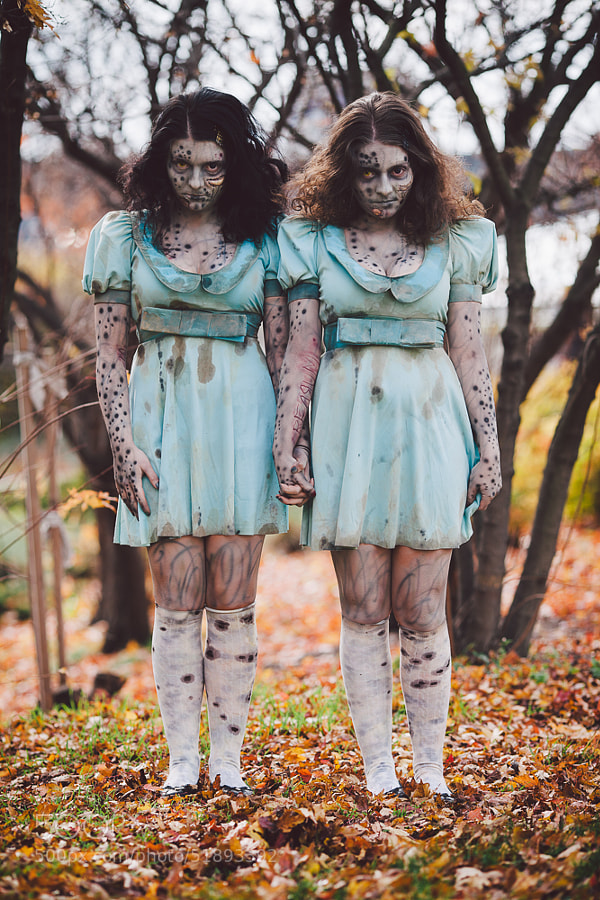 Photograph Zombie Twins by Nuno Silva on 500px