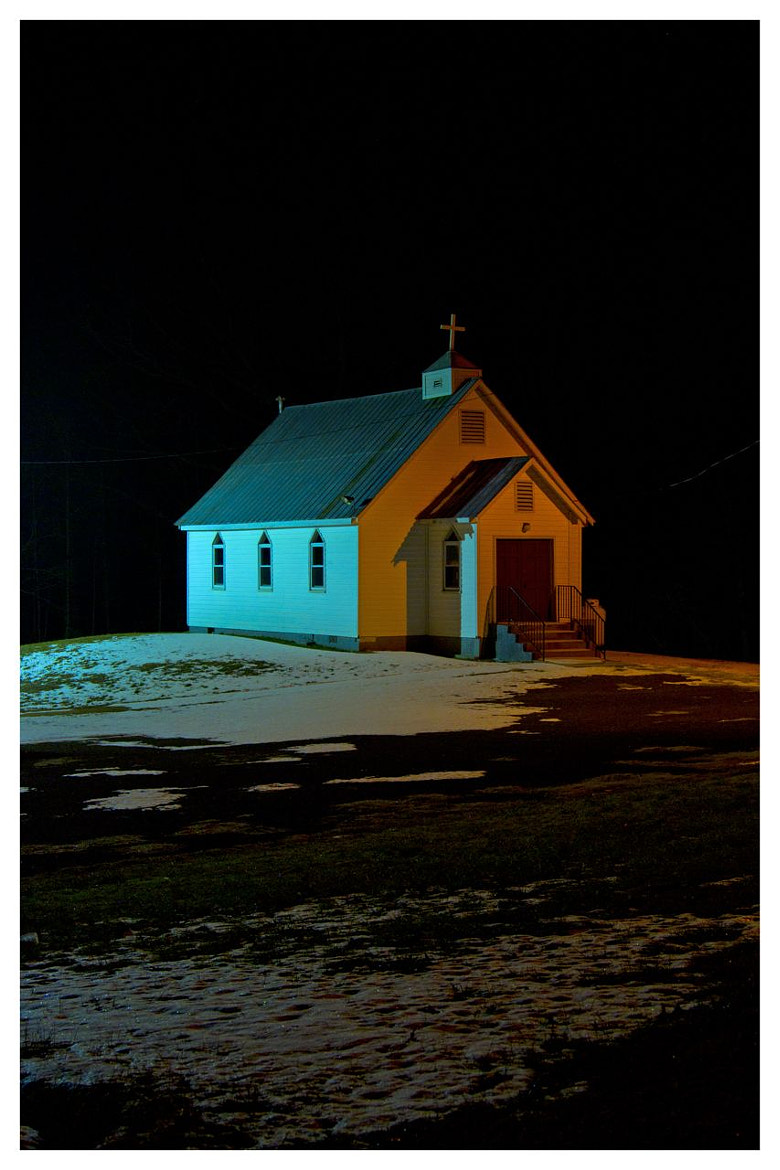 Photograph One Room Church / Maryland by Logan Hicks on 500px