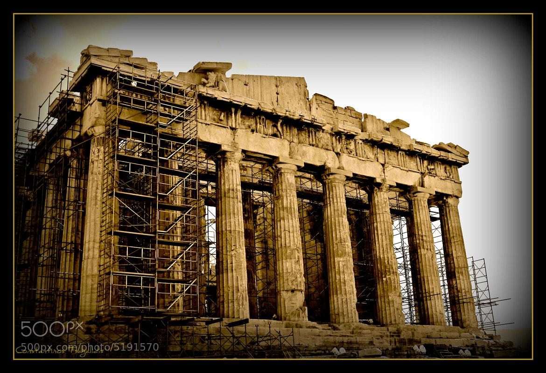Photograph Parthenon Athens by Konstantinos Tsagkalidis on 500px