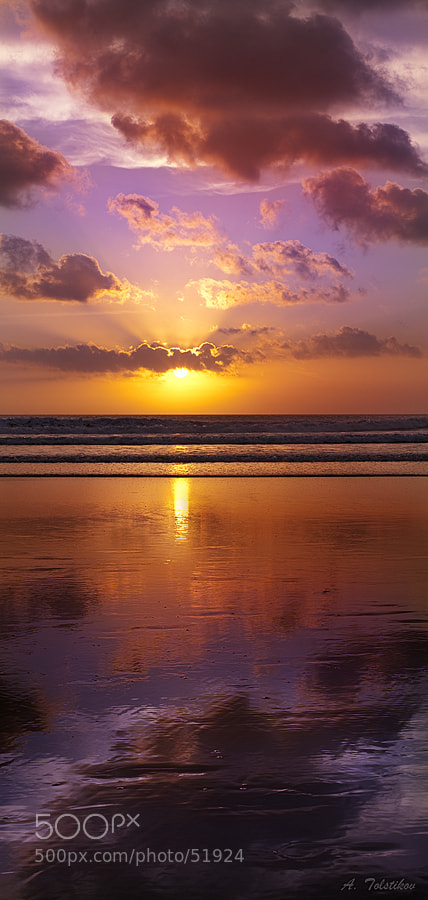 Photograph Bali sunset by Andrey Tolstikov on 500px