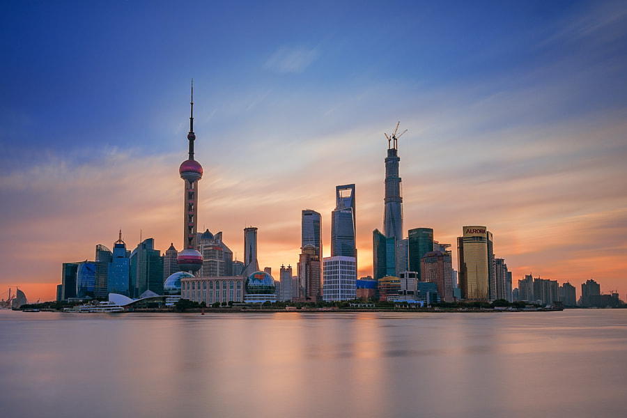 shanghai sunrise by matoy elipe on 500px.com