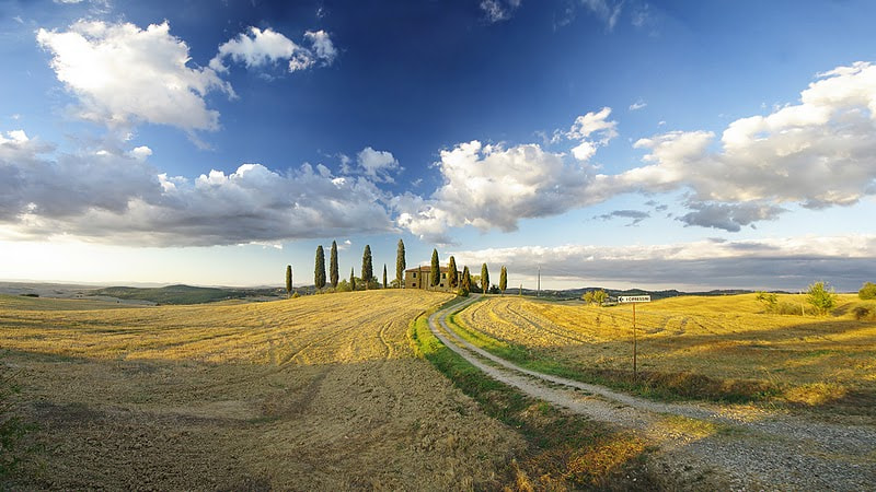 Photograph Tuscany Landscape by Boo Hoo on 500px