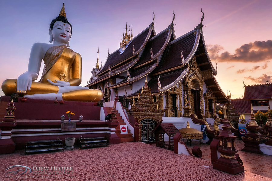 Photograph Wat Ratchamontian by Drew Hopper on 500px