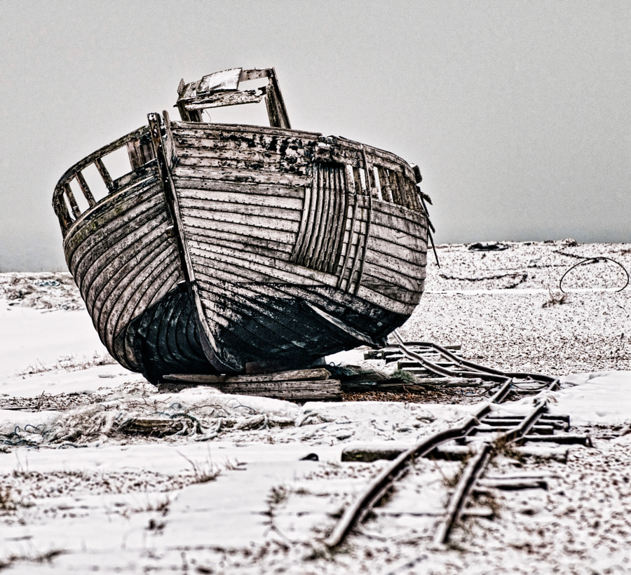 Dungeness in the Snow