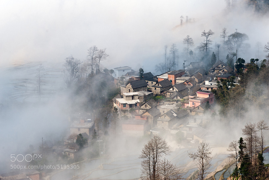 Photograph The village by Tonnaja Anan Charoenkal on 500px