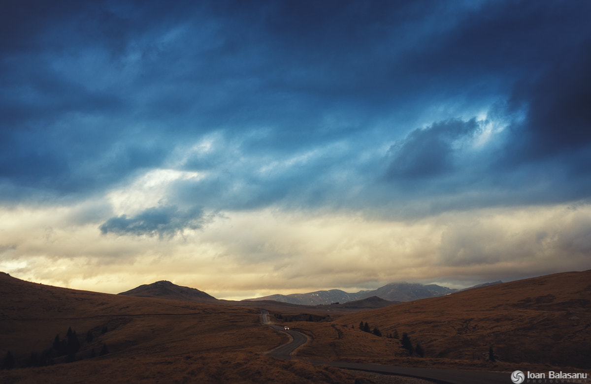Photograph Gradient between sky and earth by Ioan Balasanu on 500px