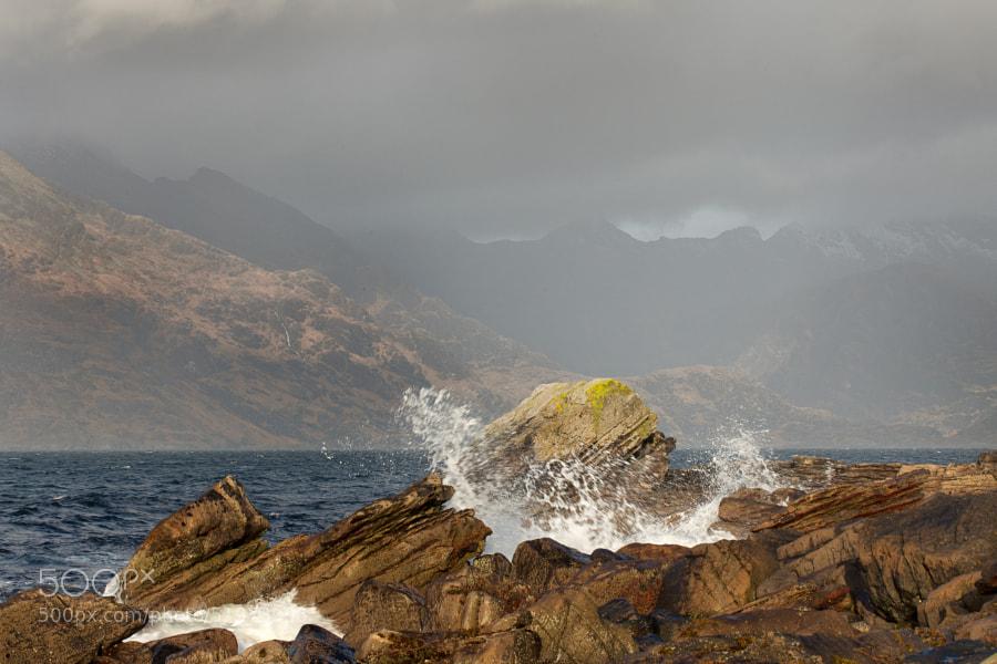 Elgol beach, Isle of Skye, Scotland.