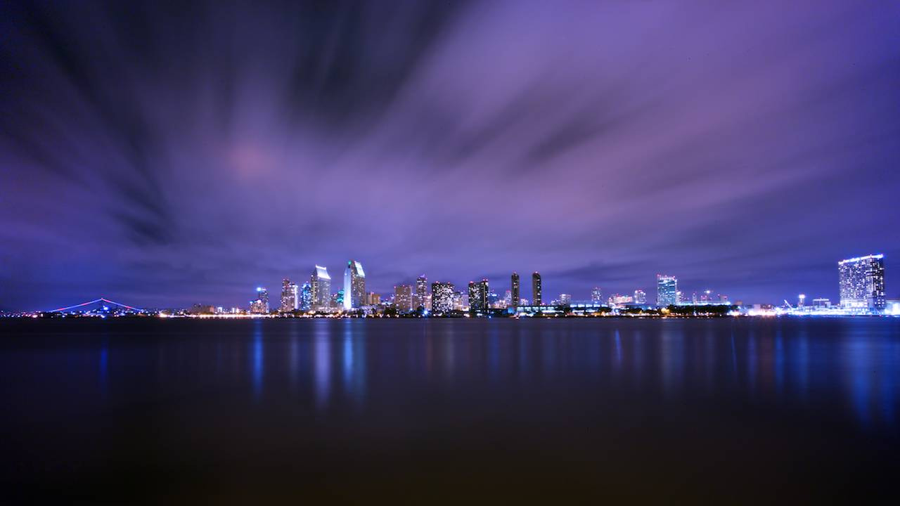 Photograph san diego skyline by Peter Chueh on 500px