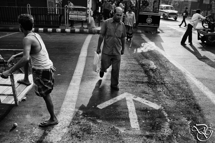 Photograph The Arrow on the street... by Diganta Gogoi on 500px