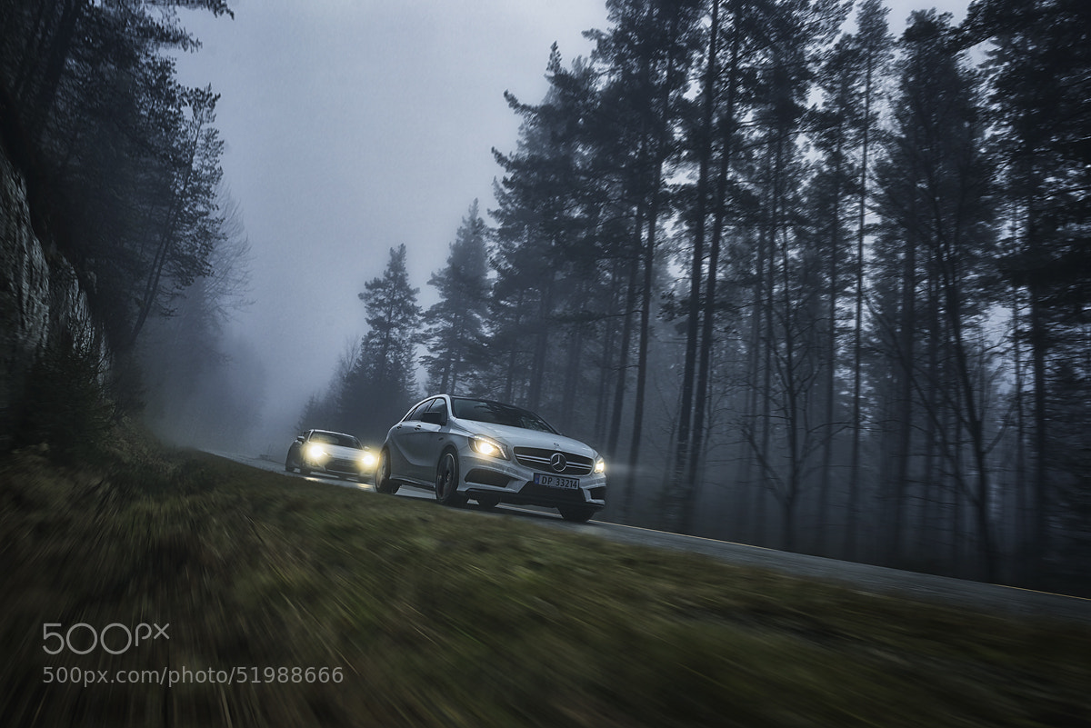 Photograph Mercedes-Benz A45 AMG by Thomas Larsen on 500px