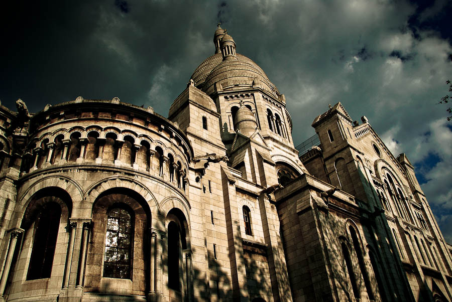 Photograph The Basilica of Sacré-Cœur by Rok Pfajfar on 500px