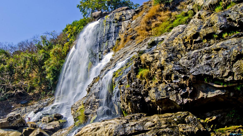 Photograph Waterfall by Sachin Kumar Jain on 500px