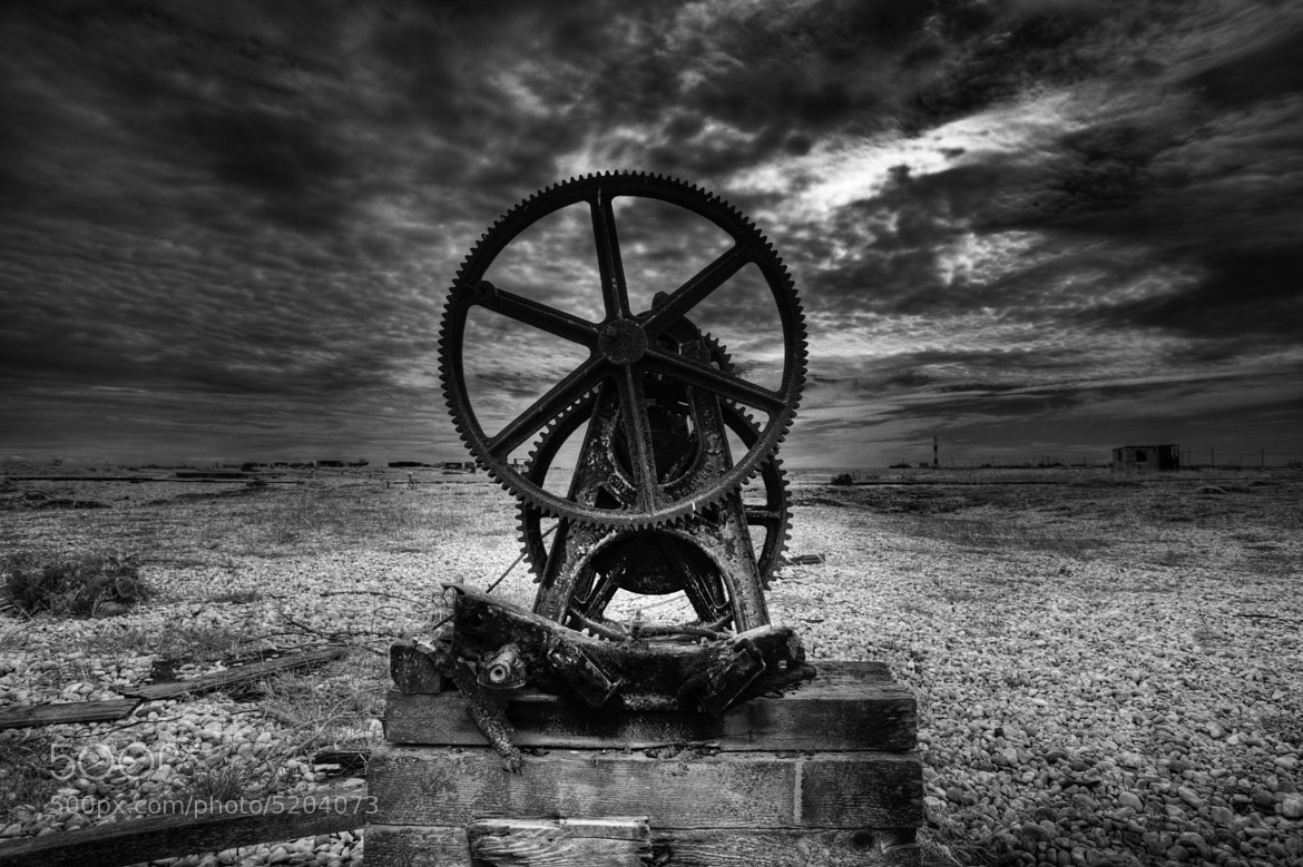 Photograph Old Boat winch at Dungeness by Dean Bedding on 500px