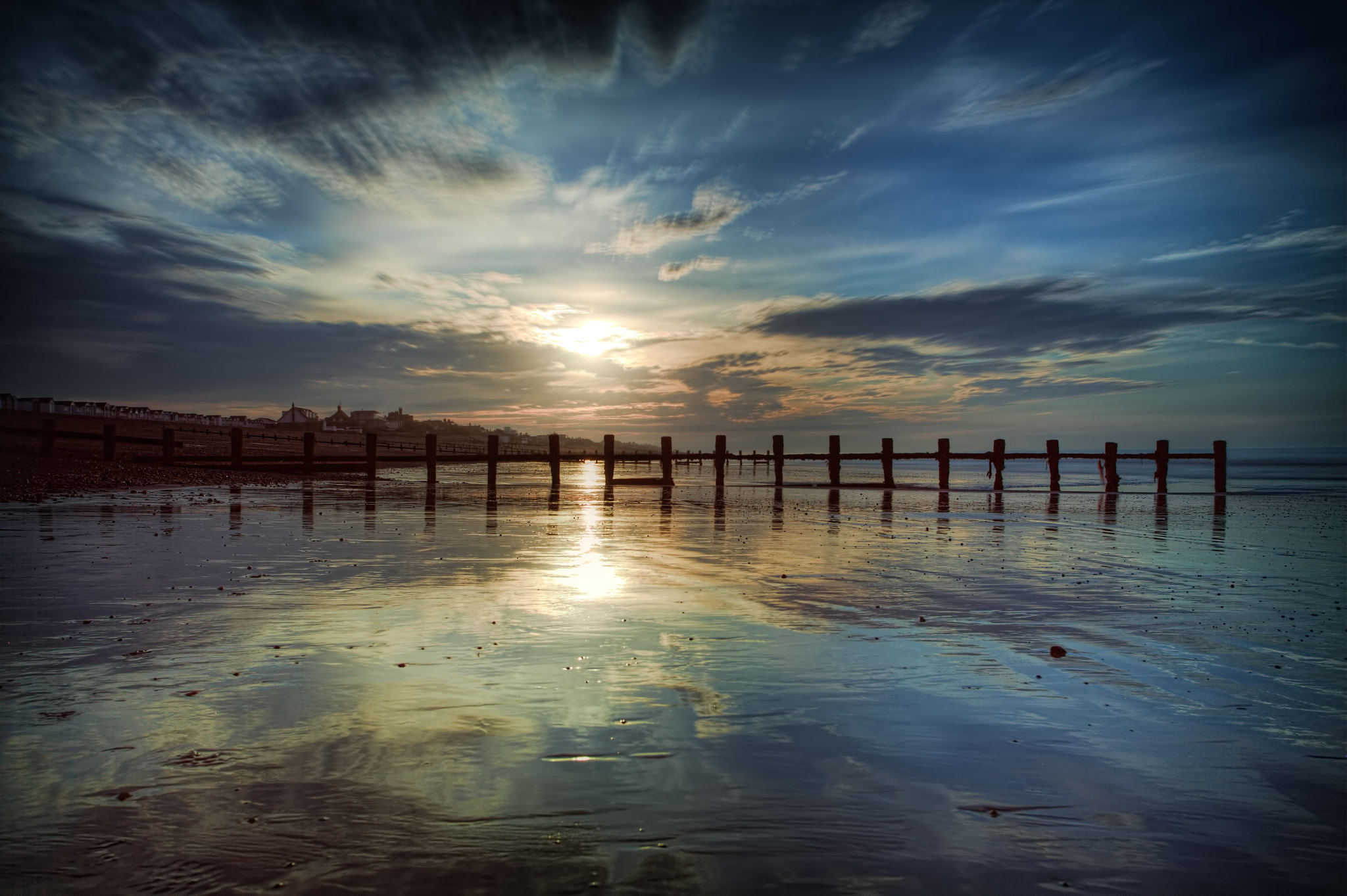 Photograph Reflections at normans bay  by Dean Bedding on 500px