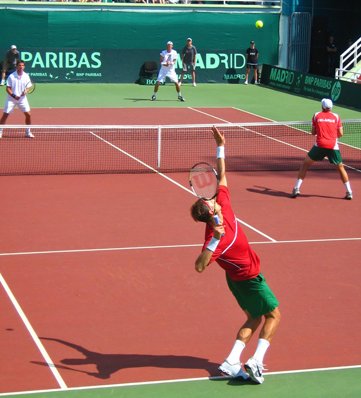 Photograph Max Mirnyi's serve by Victor Makuts on 500px