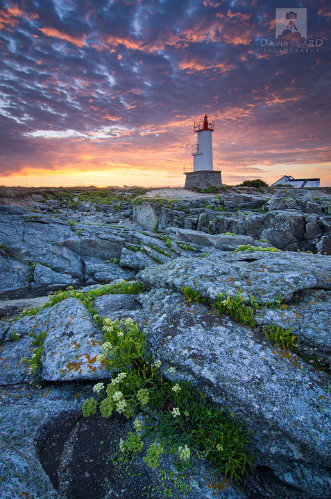 Photograph Sunset at Kerroc'h Lighthouse by David Briard on 500px