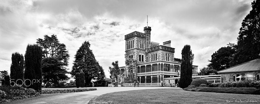 Lanarch Castle, Dunedin by Ron Gabriel