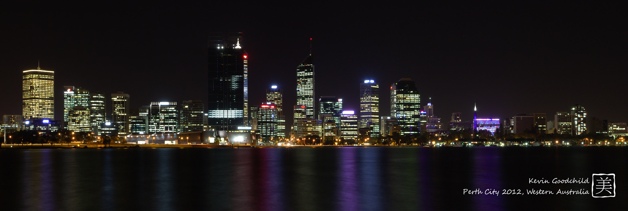 Photograph Perth city at Night by Kevin Goodchild on 500px
