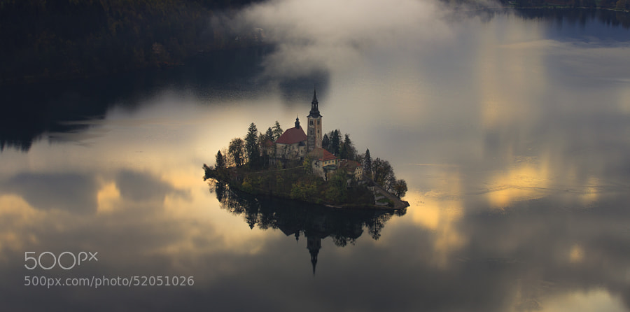 Photograph Floating Island by Jure Batagelj on 500px