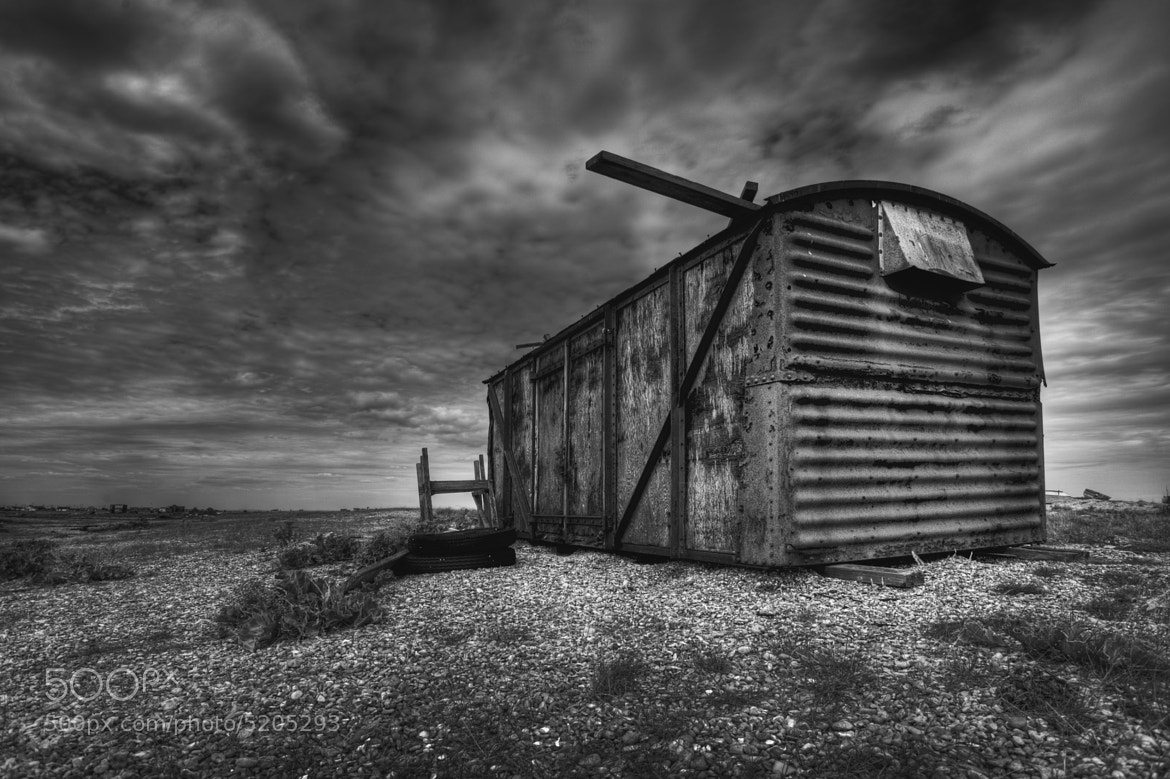Photograph Old railway Hut  by Dean Bedding on 500px