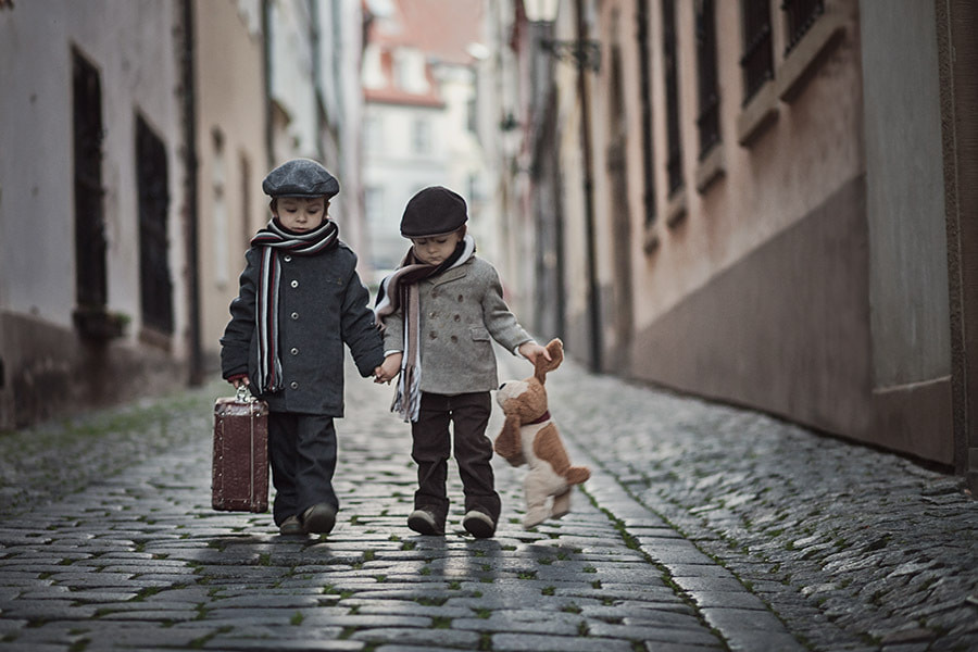 Photograph Brothers forever by Tatyana Tomsickova on 500px