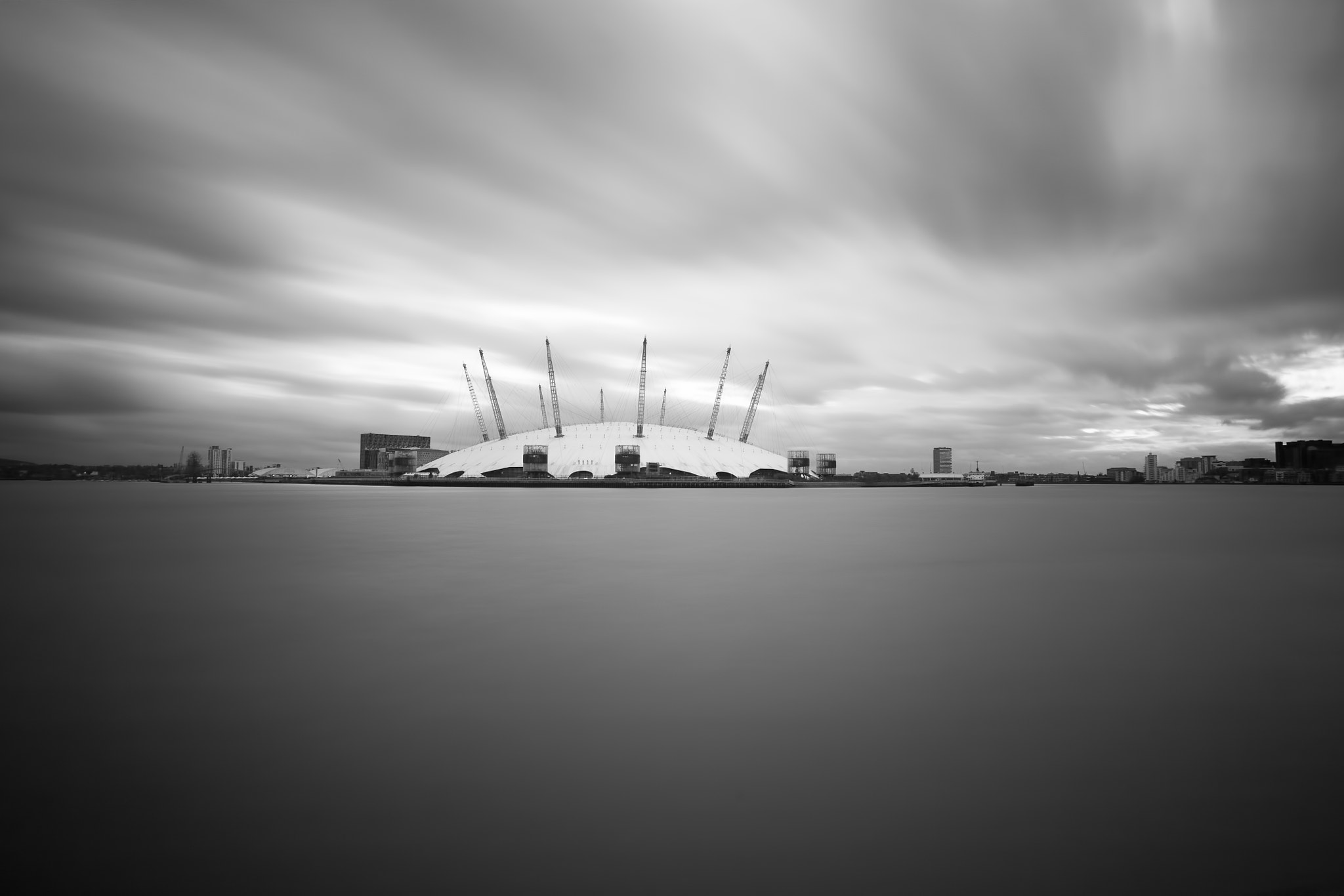 Photograph o2 arena by Dean Bedding on 500px