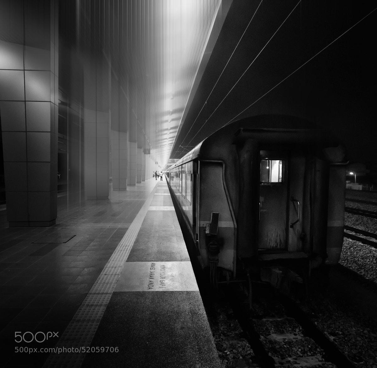 Photograph Late Night Train by Razali Ahmad on 500px