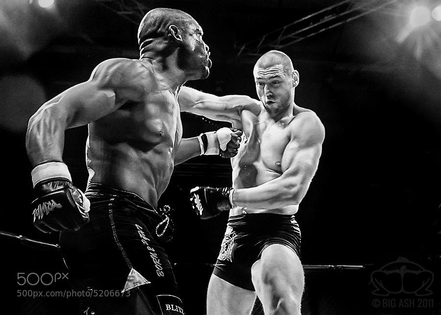 Photograph MMA - Body Shot by Ashley  Wilkin on 500px