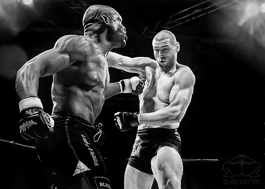 Photograph MMA - Body Shot by Ashley  Wilkin on 500px