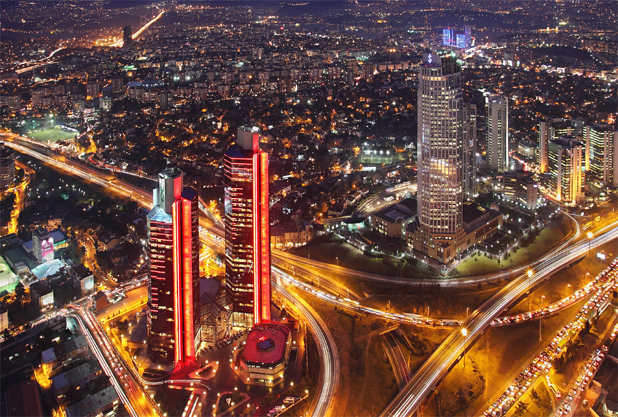 Photograph Istanbul's night by Timucin Toprak on 500px