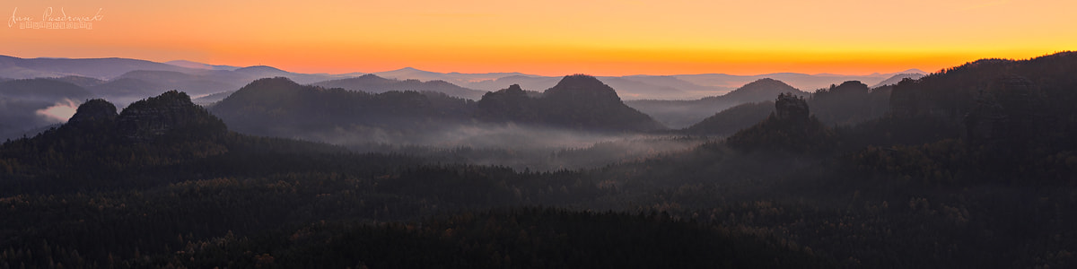 Photograph Morning Panorama by Jan Pusdrowski on 500px