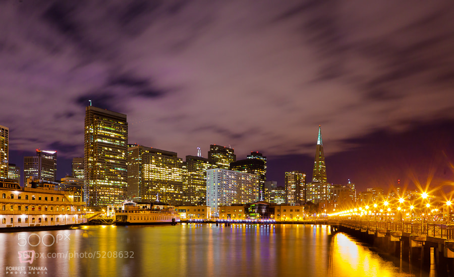 Photograph The City From Pier 5 by Forrest Tanaka on 500px